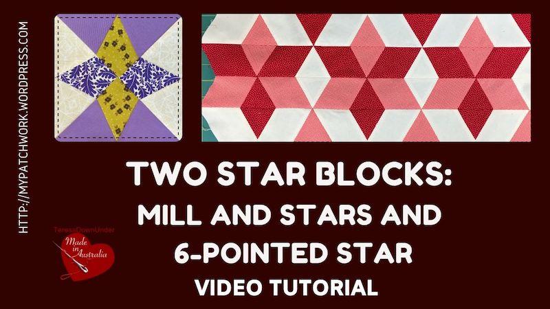 2 star quilt blocks ideo tutorial