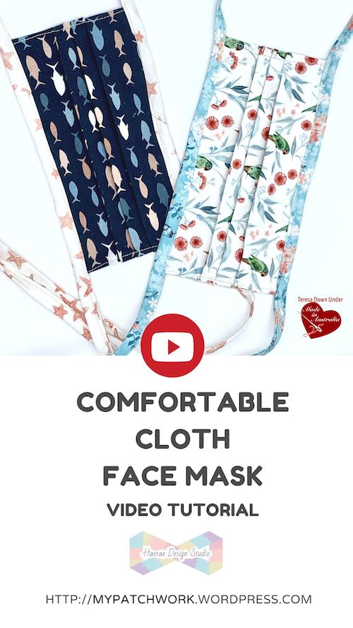 How to make a comfortable cloth face masks