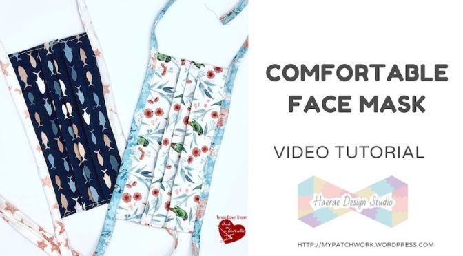 How to make a comfortable face mask – video tutorial