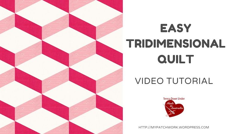 Easy tridimensional quilt