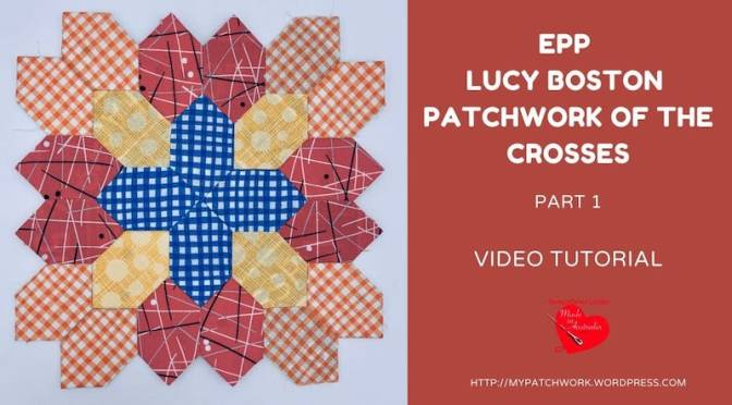 Lucy Boston Patchwork of the Crosses quilt