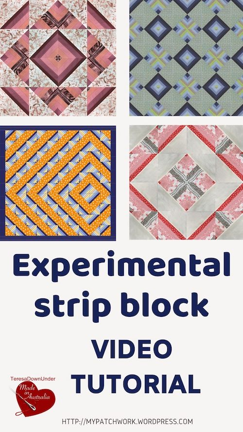 Experimental strip block video tutorial