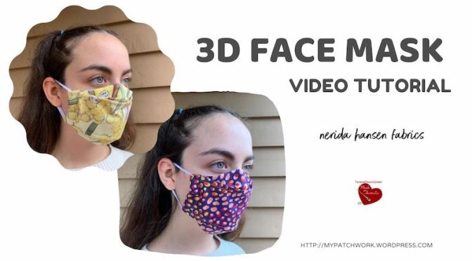 Face mask – template free – video tutorial