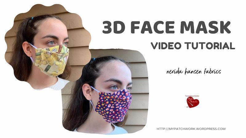 3D face mask video tutorial