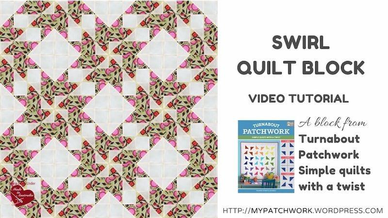 Swirl Quilt block