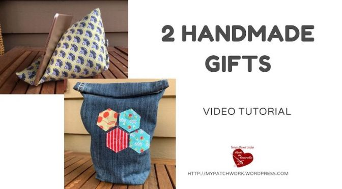 Two handmade gifts video tutorial