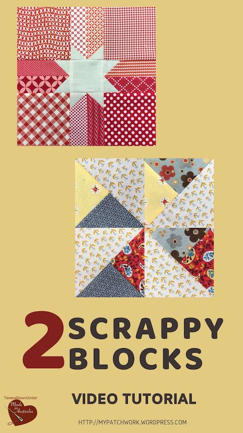 2 scrappy blocks video tutorial