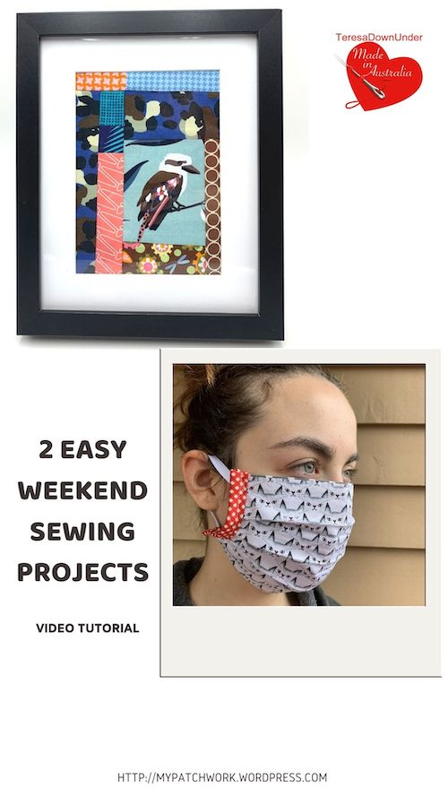 2 easy weekend sewing projects video tutorial
