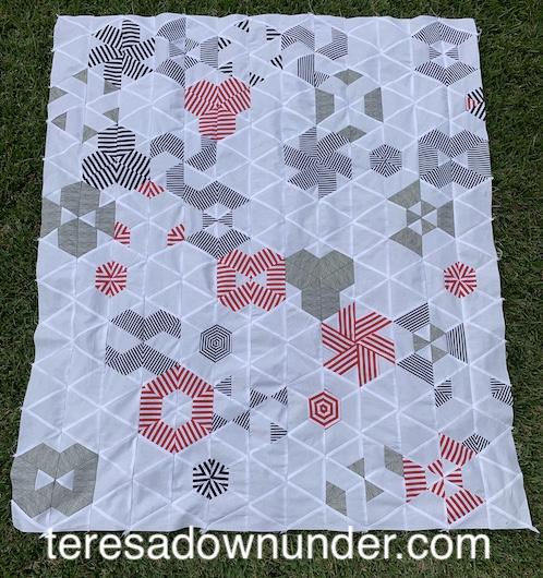 Hexagonal dream quilt