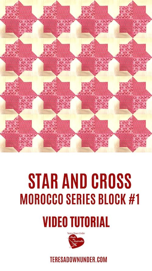 Star and Cross - Morocco series block #1