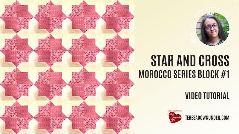 Star and Cross - Morocco series block #1