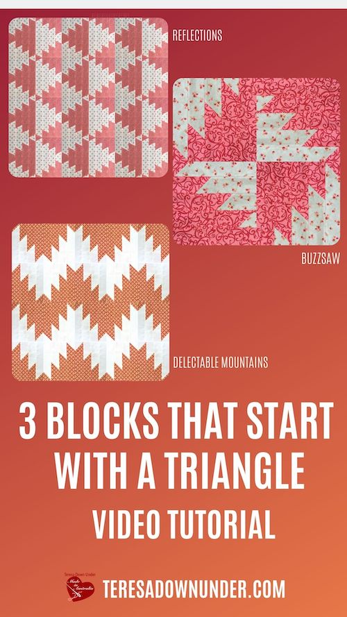 3 blocks that start with a triangle video tutorial