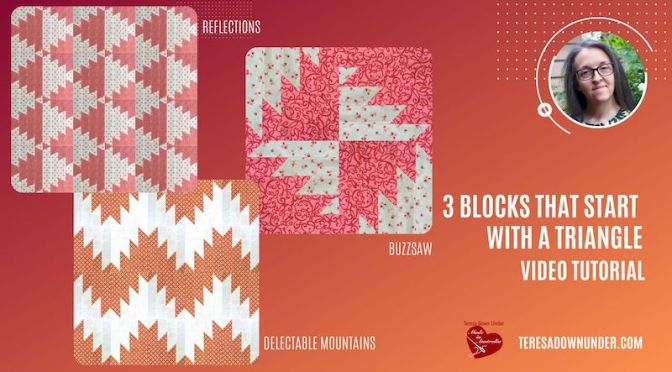 3 blocks that start with a triangle – video tutorial