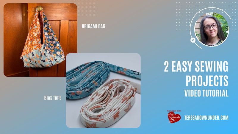 2 easy sewing project video tutorial