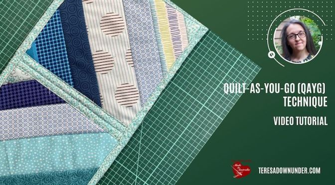 Quilt-As-you-Go  video tutorial