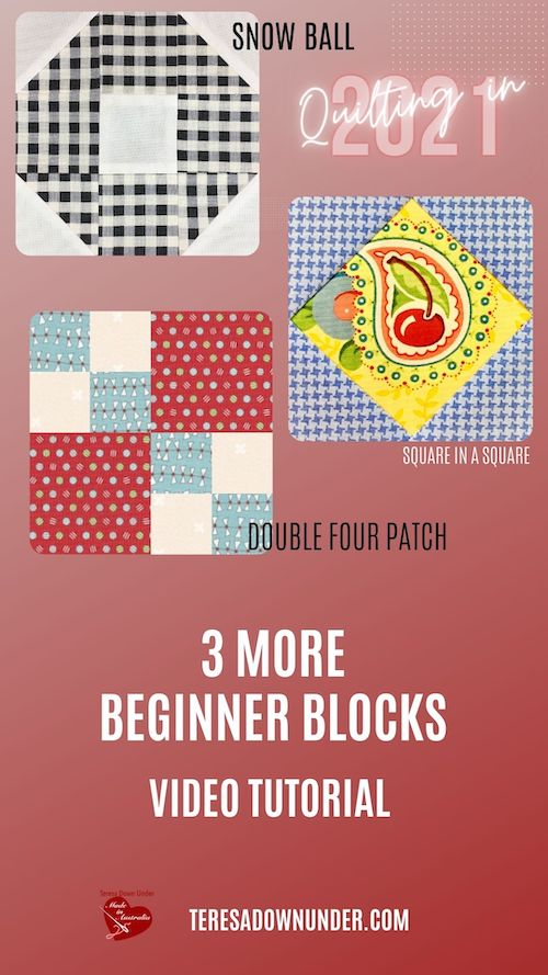 3 more beginner blocks -