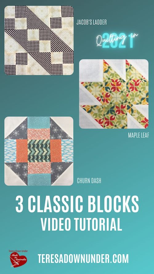 3 classic blocks video tutorial