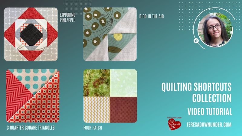 Quilting shortcuts collection video tutorial