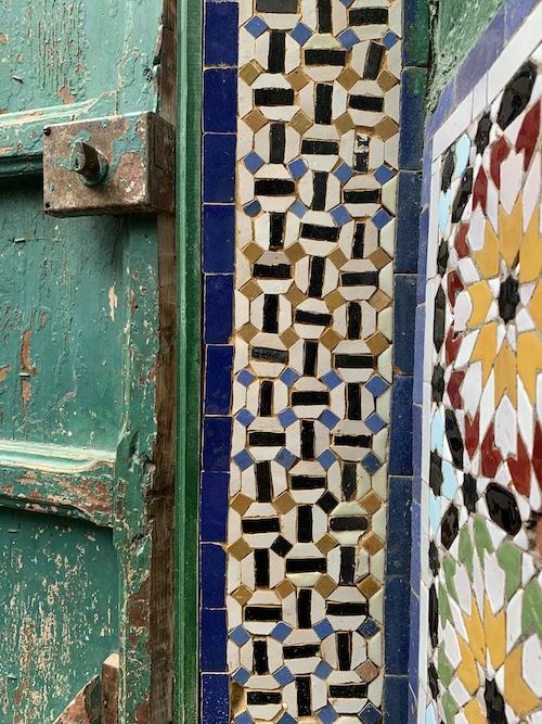 Moroccan zellij