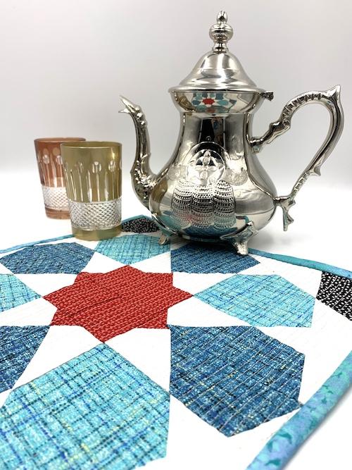 Marrakech magic mini quilt