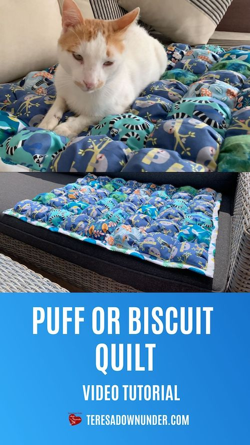 How to make a puff or biscuit quilt part 1