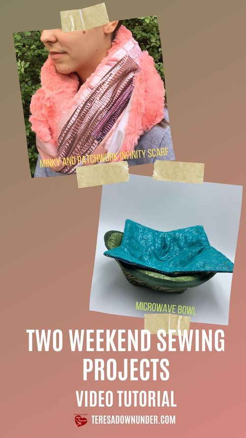 Two weekend sewing projects video tutorial